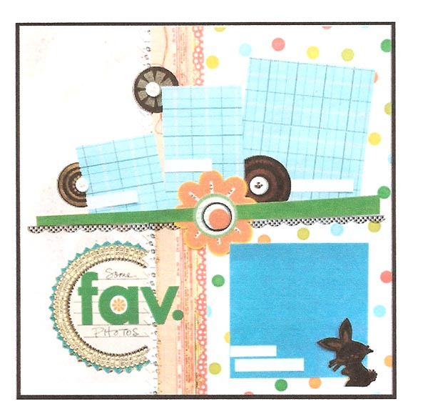 "Vicki Boutin's ""Some Fav. Photos"" layout"